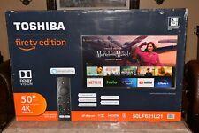 """Toshiba 50LF621U21 50"""" 4K Smart TV - Black"""