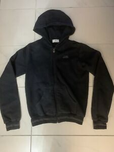 Boys Young Versace Navy Blue Hooded Tracksuit Top Jacket Age 12-13 Years