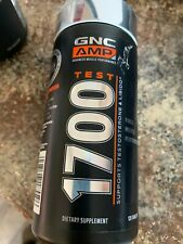 GNC AMP 1700 Test Energy Muscle & Fitness. 120 Tablets New
