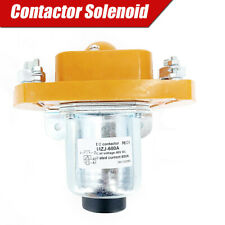 600A Universal Vehicle Relay Contactor 48V Solenoid for Golf Cart Electromobile