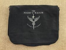 GAME OF THRONES NIGHT'S WATCH EMBROIDERED MESSENGER BAG