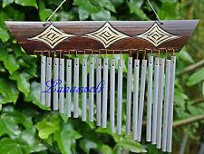 - Feng -Shui -Klangspiel-Windspiel-Klangharfe-Bambusschild -Aluröhren --
