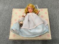 Vintage Nancy Ann Storybook Doll Curly Locks Curl Locks 154 w/ Original Box