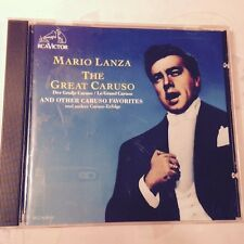 Mario Lanza~The Great Caruso~CD~Fast 1st Class Mail