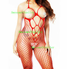 Adult New Fishnet Body Stocking Sleepwear Bodysuit Women Sexy Lingerie Babydoll