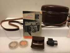 Nice Vintage Kodak Retina Iii C 35mm Camera! Heligon f:2/50mm Rodenstock Lens