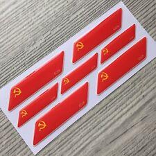 USSR Soviet flag 3d domed emblem decal sticker car BMW Ferrari Porsche VW AUDI