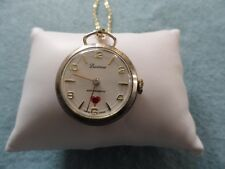 Necklace Pendant Watch - Not Working Swiss Made Lucerne Wind Up Mechanical