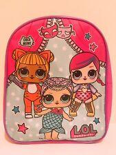 "12"" LOL Surprise Dolls Small School Book Bag Backpack Girls Toddler Preschool"