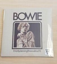 David Bowie I'm only dancing The Soul Tour 74 Vinyl LP RSD 2020 NEW SEALED