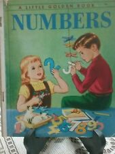 NUMBERS Little Golden Book (1956-1963 Edition 4 Colour Back) G/C