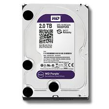 "Western Digital WD Purple 2TB,Internal,5400 RPM,8.89 cm (3.5"") (WD20PURX) Desktop HDD"