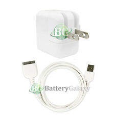USB Battery Home Wall AC Charger+Cable Cord for TAB TABLET Apple iPad 2 2nd GEN