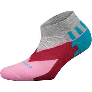Balega Women's Enduro Low Cut Running Socks - Gray/Pink