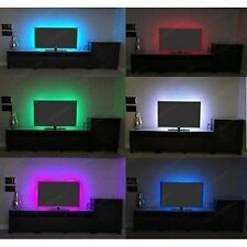 RGB LED Strip USB Colour Changing Lighting Kit 1M -TV Background Light