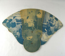 A 1951 Stanco Or Stanley Home Products Folding Paper Fan Stanley Club