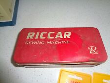 Riccar Sewing Machine Tin with accessories