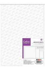 Crafters Companion - Double Sided Adhesive Sheets - A4 Size 6pcs