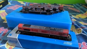 Dapol Class 66 DB With Full RHTT Set And Dummy 66