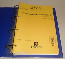 Manuel D'Atelier Peugeot 206 Électrique Installation / Équipement Stand 1998