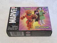 Diamond Select Marvel Universe Minimates The Thing & Dr. Doctor Doom