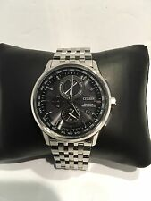 Citizen Men's Radio Controlled World Timer Eco-Drive Watch AT8110-53E