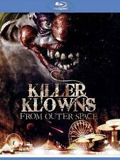 Killer Klowns From Outer Space (Blu-ray Disc, 2012) NEW