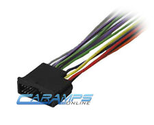 NEW CAR RADIO CD PLAYER WIRING HARNESS STEREO INSTALL WIRE ADAPTER PLUG FOR KIA