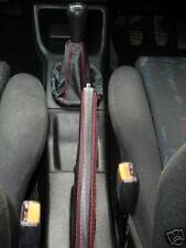 Fits Vw Golf Mk3 Vento Jetta Shift E Brake Boot Red Stit