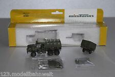 Roco minitanks 5022 M929 und M105 Lkw mit Anhänger US-Army Spur H0 OVP