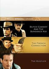 Butch Cassidy and the Sundance Kid/The French Connection/The Hustler Dvd New