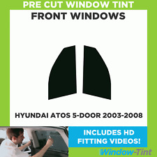 Pre Cut Window Tint - Hyundai Atos 5-door Hatchback 2003-2008 - Front Windows