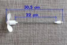 USB Ventilator mit Schwanenhals Notebook & Laptop Lüfter Fan Gadget