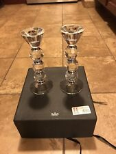 Godinger Shannon Crystal pair of candlesticks