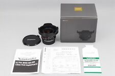 NEW Voigtlander Ultra Wide Heliar 12mm F5.6 Aspherical II Leica VM from Japan