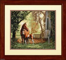 "DIMENSIONS GOLD COLLECTIONS""MARE AND FOAL""CROSS STITCH KIT Kreuzstich STICKPACKU"