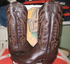 Justin Men's leather  Boot Cocoa Kiddie Y2549 Size 6.5 EE NEW