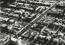 1964 Foster Aerial Photo BEVERLY HILLS Wilshire Blvd Almont La Peer Dr 16x20 W3