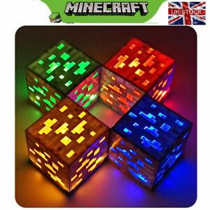 Minecraft Light-up Redstone Ore New Interactive Block