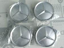 Genuine Mercedes set of 4 center hub caps alloy wheels W126 W124 R129 W140 NOS!
