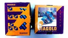 Diagolo Creative Storage System for DVD/CD Discs - BLUE Original / Brand New