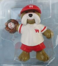 Big catch Bulldog baseball player ANIMAL FIGURINE Webkinz new with code