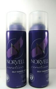 LOT OF 2 Norvell Venetian Sunless Airbrush Spray Tanning Self Tan Mist 7 oz