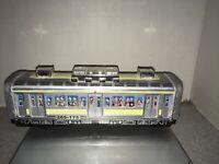 Tin Lithograph Subway Friction  Car 265-175 Made In China