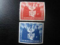 DDR EAST GERMANY Mi. #284-285 mint stamp set! CV $12.00