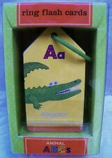 Animals ABCs  Ring Flash Cards