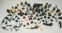 Lego Minifigure/weapons/ Accessories Lot Full Of Incomplete And Complete Figures