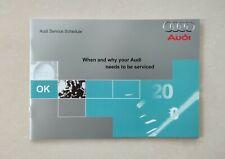 💯GENUINE NEW AUDI SERVICE HISTORY BOOK A1 A2 A3 A4 A5 A6 A7 Q3 Q5 Q7 ALL MODELS