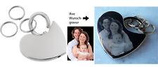 Herz Schlüsselanhänger Foto Gravur Fotogravur Geschenk ❤ Geburtstag ❤  Hochzeit