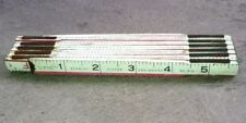 Vintage * STANLEY VICTOR ENGINEERS No. 816 * 6-ft. Zig Zag Folding Ruler USA